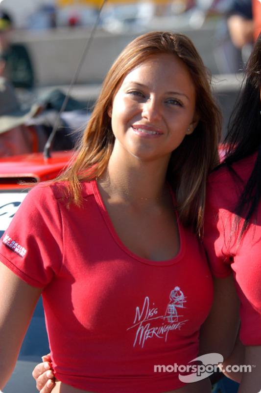 Miss Meringue girl