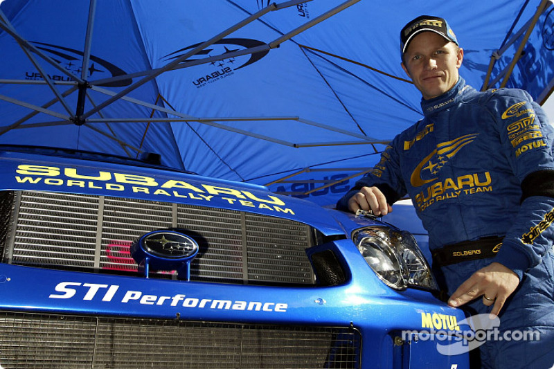 Petter Solberg, campeón del mundo del WRC 2003