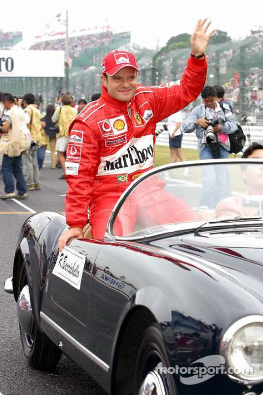Présentation des pilotes : Rubens Barrichello