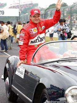 Drivers presentation: Rubens Barrichello