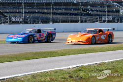 #05 Team Re / Max Racing Corvette: John Metcalf, Rick Carelli, David Liniger, and #40 Derhaag Motorsports Corvette: Simon Gregg, Justin Bell