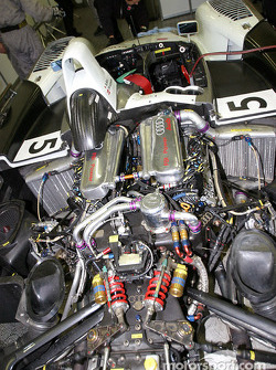 Audi Sport Japan Team Goh Audi R8 powerplant
