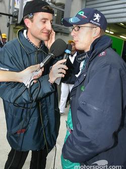 Interviews for Sébastien Bourdais