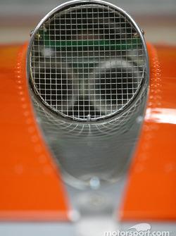 Detail of the #44 Spyker Automobielen BV Spyker C8 Double12R