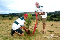 Peter Brock and David Brabham