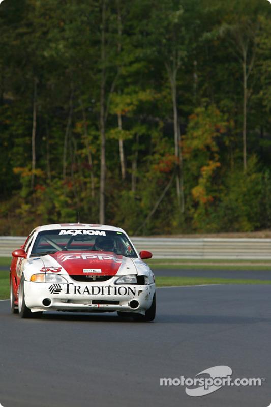 la Mustang Cobra R n°53 de l'équipe TF Racing / Max Q pilotée par Emil Assentato, Nick Longhi