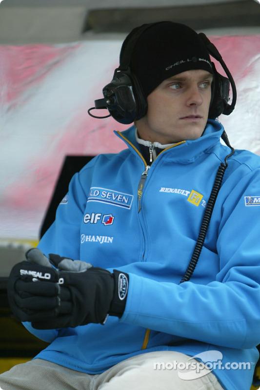 Heikki Kovalainen, pilote du Renault Driver Development