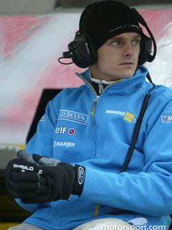 Renault F1 RDD driver Heikki Kovalainen