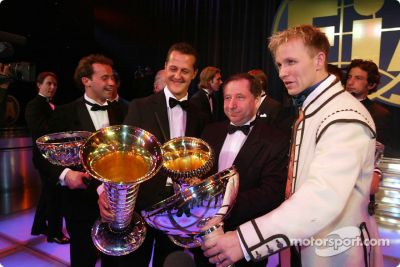 2003 FIA Prize Giving Gala, Monaco