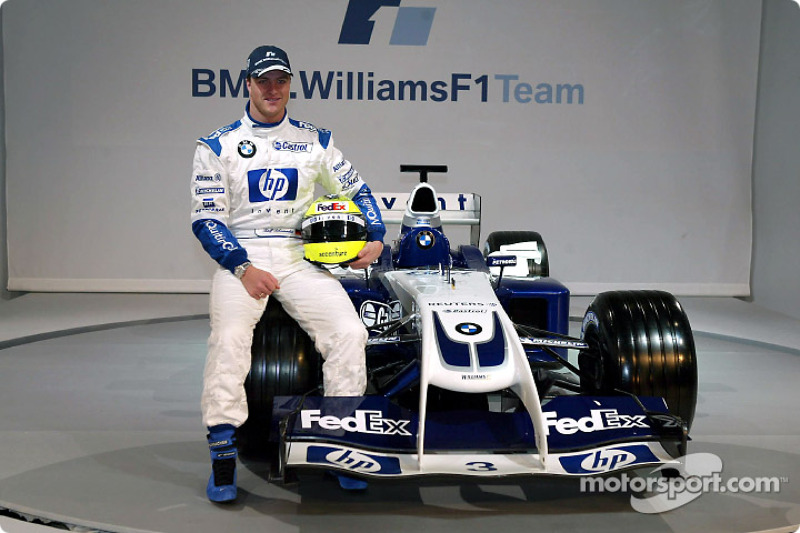 Ральф Шумахер з новим Williams FW26 BMW