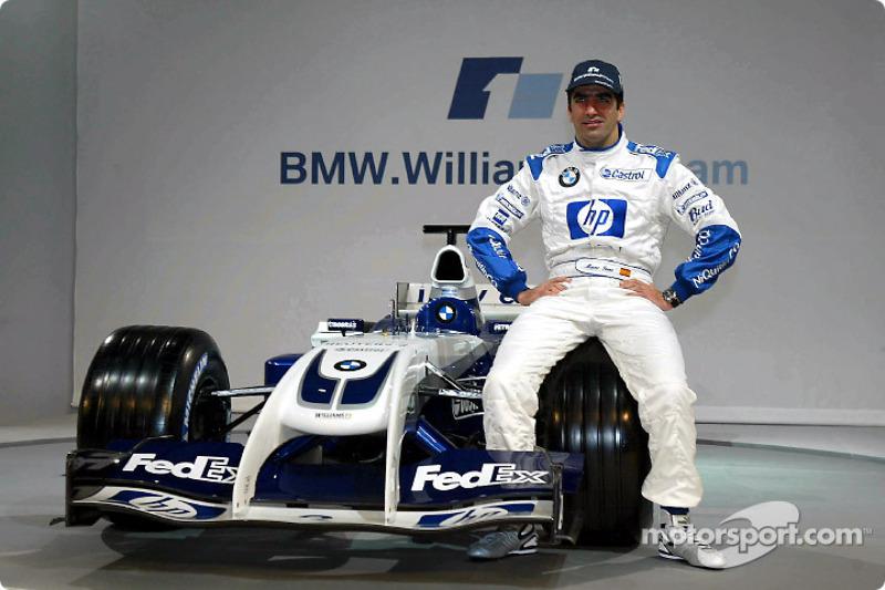 Тест-пілот Марк Жене і новий Williams FW26 BMW