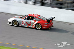 #75 Flying Lizard Motorsports Porsche GT3 RS: Seth Neiman, Lonnie Pechnik, Johannes van Overbeek, Peter Cunningham