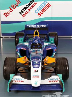 The new Sauber Petronas C23