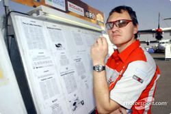 Le directeur sportif de Mitsubishi Motor Sports, Dominique Serieys