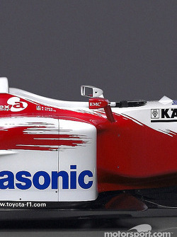 Detail of the new Toyota TF104