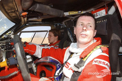 Colin McRae and Tina Thorner