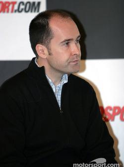 Robert Reid interview on Autosport Stage