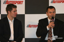 Interview de Guy Smith et Jamie Davies sur la scène Autosport