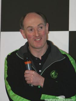 Gwyndaff Evans interview on Autosport Stage