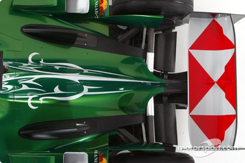 Detailaufnahme des Jaguar R5