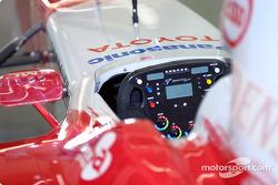 Cockpit of Toyota