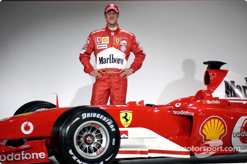 Міхаель Шумахер і Ferrari F2004