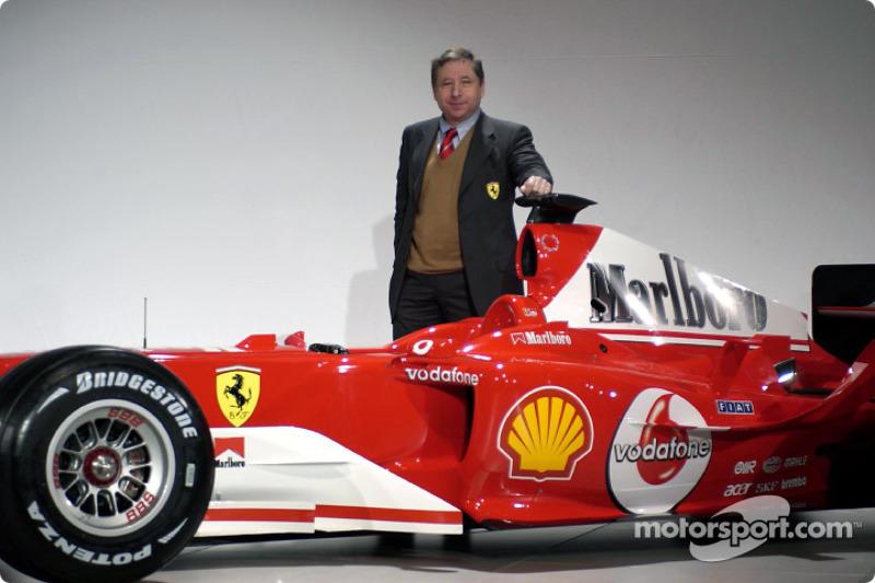 Jean Todt ve yeni Ferrari F2004