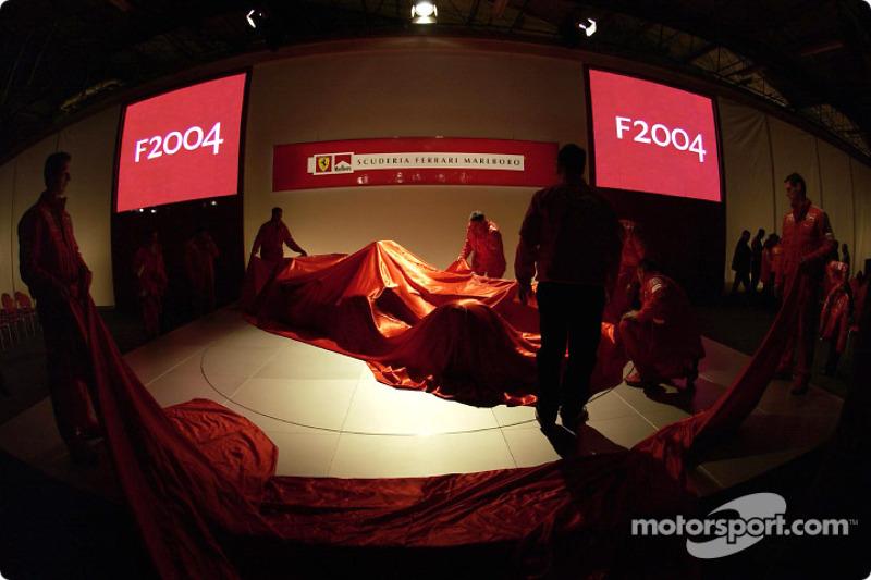 Підготовка до презентації Ferrari
