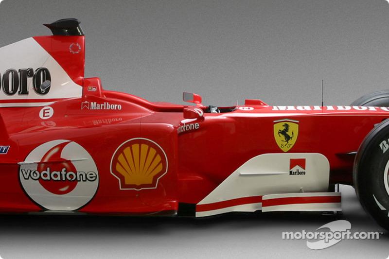 Detay, yeni Ferrari F2004
