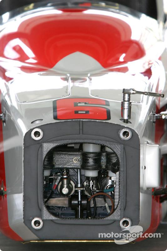 Marlboro Team Penske Sam Hornish Jr.'s car