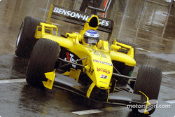 Nick Heidfeld braves the conditions