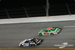 Ryan Newman and Bobby Labonte