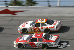 Dale Earnhardt Jr. and Dave Blaney