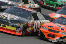 Johnny Benson and Robby Gordon