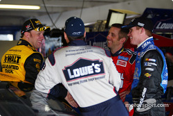Matt Kenseth, Jimmie Johnson, Greg Biffle and Brian Vickers