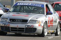 L'Audi S4 n°04 du Istook/Aines Motorsport Group (Anders Hainer, Don Istook, Blake Rosser)
