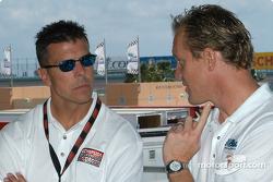Scott Pruett and Terry Borcheller