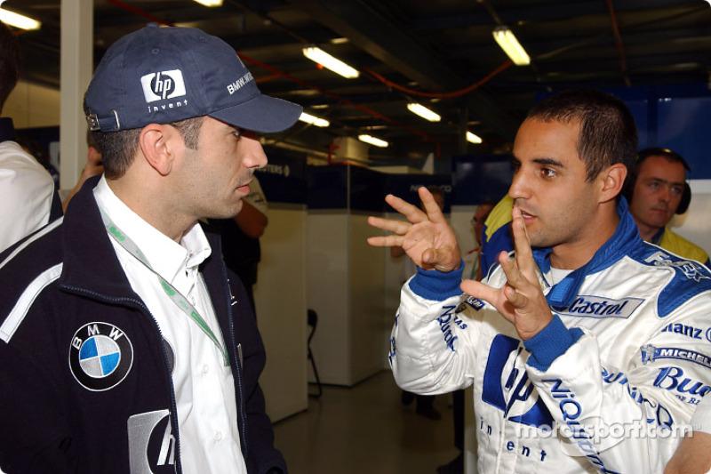 Marc Gené y Juan Pablo Montoya