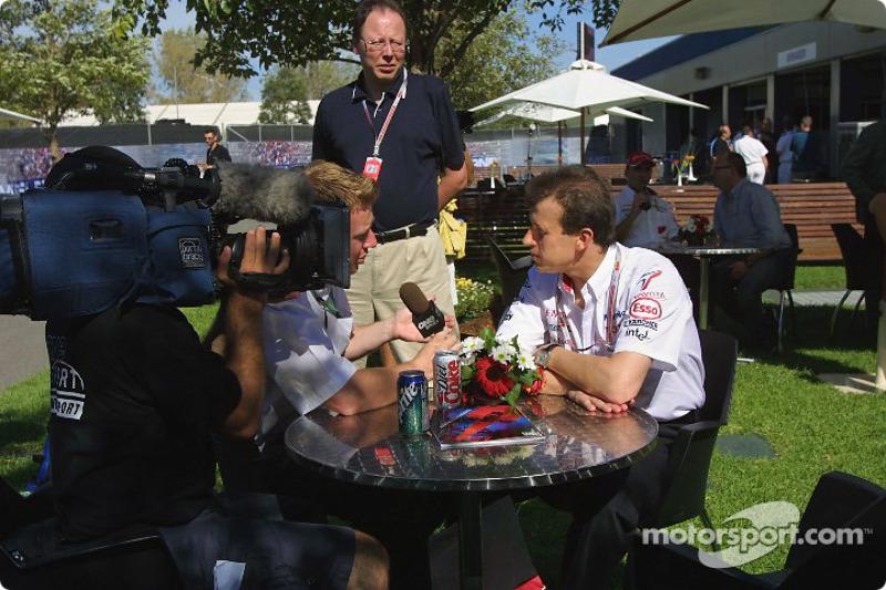 Entrevista para Olivier Panis
