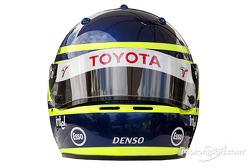 Photoshoot: Cristiano da Matta's helmet