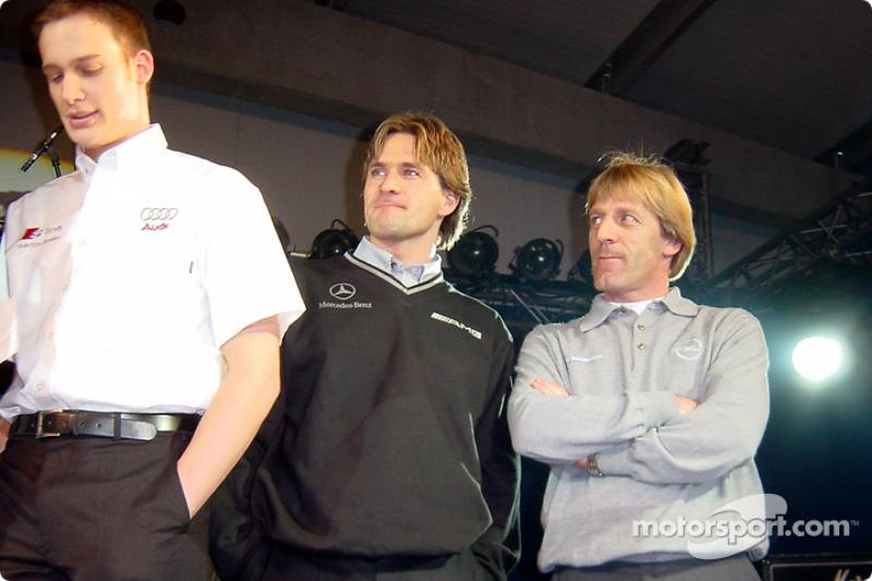 Peter Dumbreck, Markus Winklehock and Joachim Winklehock