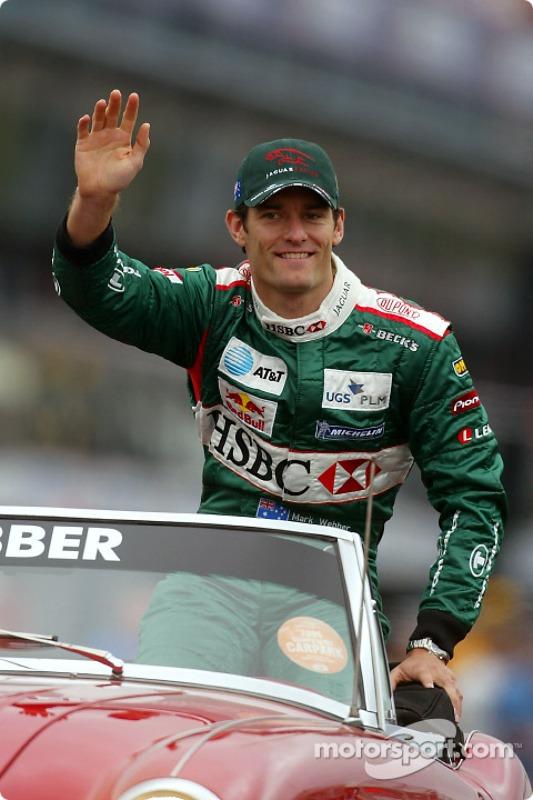 Présentation des pilotes : Mark Webber