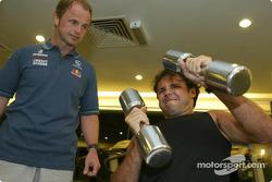 Sauber driver training in Kota Kinabalu: Felipe Massa