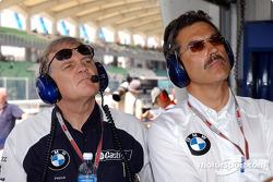 Patrick Head ve Dr Mario Theissen