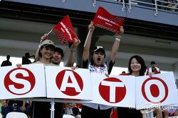 Takuma Sato taraftarı club