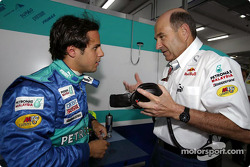 Felipe Massa and Peter Sauber
