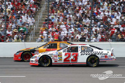 Brendan Gaughan and Dave Blaney go two wide