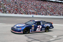 Rusty Wallace is in for service