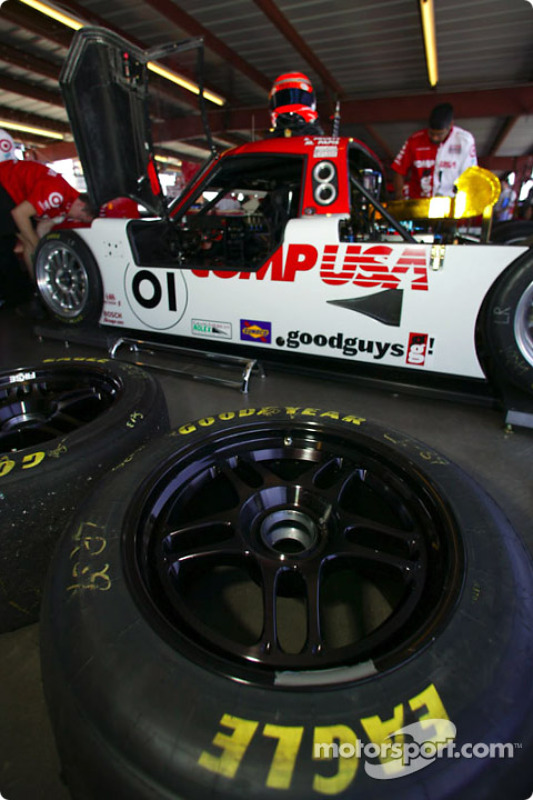 Le garage du Chip Ganassi Racing