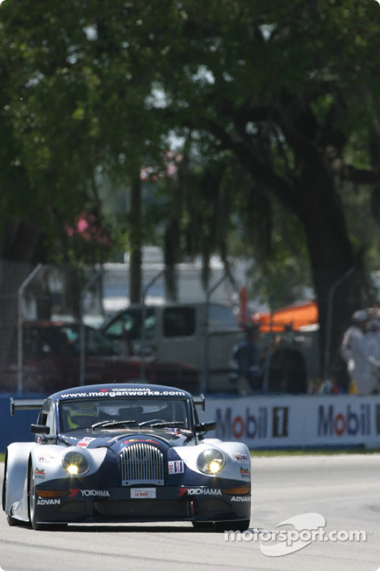 La Morgan Aero 8 n°49 du Morgan Works Race Team (Adam Sharpe, Neil Cunningham, Keith Ahlers)